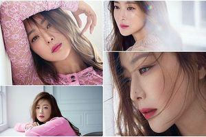 Xao xuyến nhan sắc không tuổi của mỹ nhân xứ Hàn Kim Hee Sun