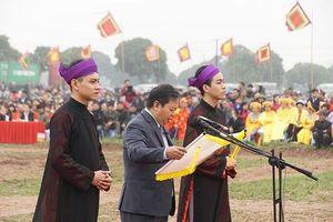 Độc đáo Lễ hội Tịch Điền Đọi Sơn