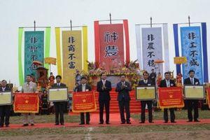 Hà Nam: Tưng bừng Lễ hội Tịch điền Đọi Sơn xuân Mậu Tuất 2018