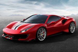Ferrari 488 hiệu suất cao sẽ được gọi với tên 'Pista'