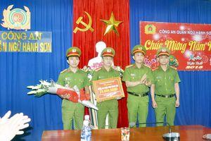 Khen thưởng thành tích khám phá án của CAQ Ngũ Hành Sơn