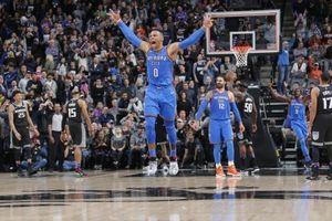 NBA 2017-18, OKC Thunder 110-107 Sacramento Kings: Nhát dao chí mạng của Russell Westbrook