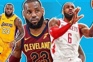 NBA 2017-18, Điểm đến mới cho nhà vua Lebron ? (Phần 3)