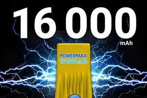 Energizer Power Max P16K Pro: smartphone pin khủng 16.000mAh tại MWC 2018