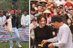 Cười ngất với hàng loạt trò chơi vui nhộn trong các lễ hội truyền thống đầu năm mới