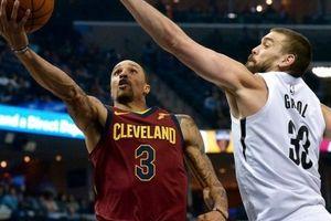 NBA 2017-18, Cleveland Cavaliers 112-89 Memphis Grizzlies: Triple – double cho King James