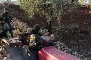 Chiến dịch Afrin - Syria: Thổ Nhĩ Kỳ pháo kích đoàn xe khủng bố