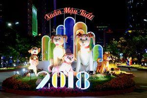 Đường hoa Nguyễn Huệ Tết Mậu Tuất 2018 thu hút khoảng 1 triệu lượt khách tham quan