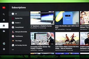 Google thiết kế lại ứng dụng YouTube trên Android TV