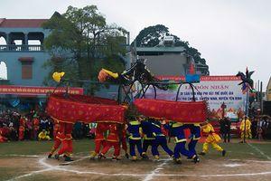 Lễ hội Trò Chiềng được công nhận là Di sản văn hóa phi vật thể cấp Quốc gia