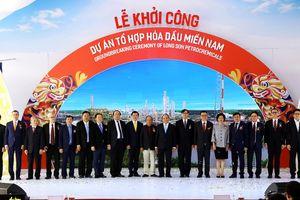 Tập đoàn SCG khởi công dự án Tổ hợp Hóa dầu Miền Nam