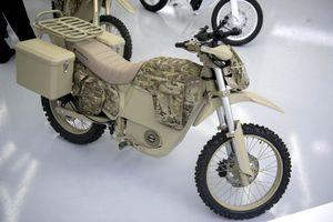 Quân đội Nga lần đầu sử dụng moto điện