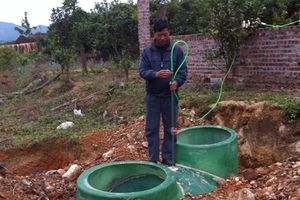 Xây lắp hầm biogas: Giải pháp hiệu quả giảm thiểu ô nhiễm môi trường