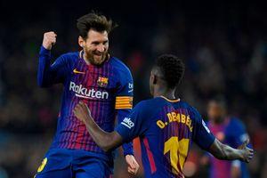 Coutinho ghi siêu phẩm, Messi lập cú đúp giúp Barca thắng 6-1