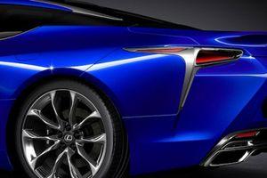 Lexus mất 15 năm nghiên cứu màu xanh cấu trúc của LC 500