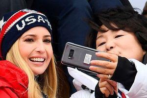 Vẻ đẹp hút hồn của ái nữ Tổng thống Trump tại Thế vận hội Pyeongchang