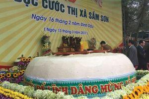 Làm bánh dày 3 tấn dâng vua Hùng: Không cần thiết