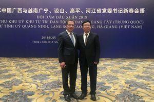Hợp tác 4 tỉnh biên giới Việt Nam với Quảng Tây, Trung Quốc ngày càng hiệu quả