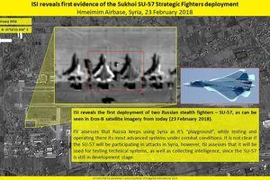 Tiêm kích Su-57 của Nga 'xuất đầu lộ diện' ở Syria