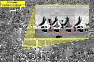 Vệ tinh Israel chụp được hình ảnh chiến đấu cơ Su-57 Nga ở Syria