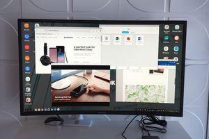 Samsung DeX Pad biến Galaxy S9/S9+ thành máy tính màn hình 2K