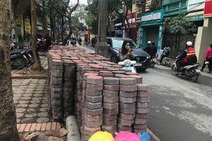 Phát hiện hàng loạt sai phạm tại nhiều dự án lát đá vỉa hè ở Hà Nội