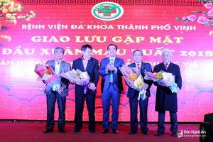 Bệnh viện Đa khoa TP Vinh kỷ niệm 63 năm Ngày Thầy thuốc Việt Nam