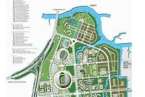 Tuyển chọn phương án quy hoạch Khu phức hợp thể dục thể thao Rạch Chiếc trong tháng 4