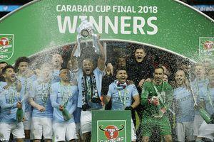 Thắng đậm Arsenal, Man City vô địch Cúp Liên đoàn Anh