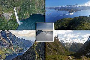Lạc vào rừng Amazon với hình ảnh công viên Fiordland nhìn từ trên cao