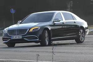 Siêu xe sang Mercedes-Maybach S-Class 2019 lộ diện