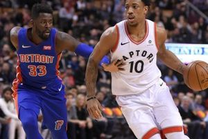 NBA 2017-18, Detroit 94-123 Toronto: Khẳng định vị thế số 1 sân nhà