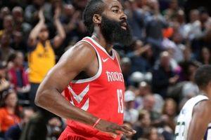 NBA 2017-18, Houston Rockets 96-85 Utah Jazz: Không thể cản James Harden