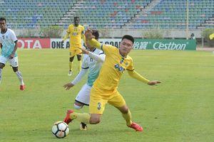 AFC Cup 2018: FLC Thanh Hóa thua ngược tại Myanmar