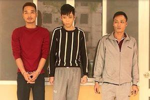 Bắt gọn bộ ba 'bạn tù' trộm cắp chuyên nghiệp