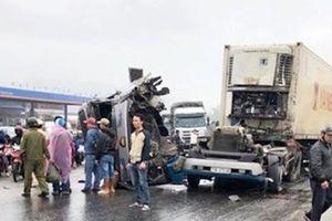 'Hung thần' Container gây hai vụ tai nạn nghiêm trọng trên QL1A