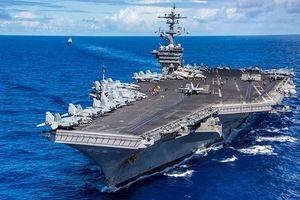 Lịch trình của hàng không mẫu hạm Mỹ cập cảng Tiên Sa (Đà Nẵng)