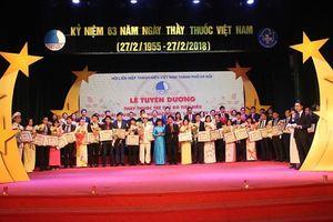 10 Thầy thuốc trẻ xuất sắc nhận giải thưởng Đặng Thùy Trâm