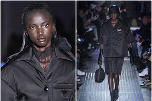 Sau hơn 2 thập kỷ mới có một người mẫu da màu mở màn show diễn của Prada