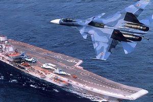 Siêu tàu sân bay Storm Nga: Lạc lõng giữa bầy sói Kalibr