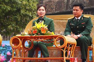 Cô gái Hà Thành tình nguyện viết đơn xin nhập ngũ