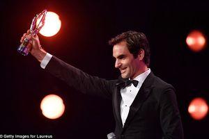 Federer giành cú đúp tại Laureus World Sports Awards