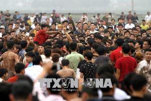 Vẫn xảy ra ẩu đả, bạo lực tại hội Phết Hiền Quan 2018