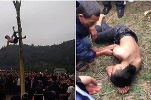 Yêu cầu làm rõ vụ nam thanh niên ngã bất tỉnh khi trèo cây chuối 'lấy lộc'