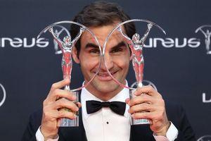 Federer đoạt cú đúp tại 'Oscar thể thao'