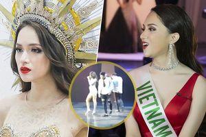 Hương Giang Idol trình bày ca khúc dance 'cực bốc' trong phần thi Tài năng tại Hoa hậu Chuyển giới Quốc tế