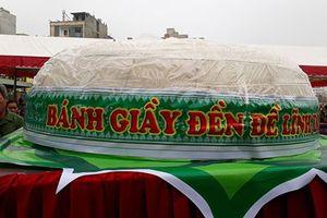 Thanh Hóa: Không làm bánh giầy 3 tấn dâng lên Vua Hùng