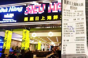 Đà Nẵng phạt nhà hàng 'chặt chém', xuất phiếu tính tiền chữ Trung Quốc