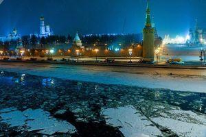 Thủ đô Moscow (Nga) biến thành Vương quốc Băng giá âm nhiều độ