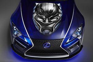 Siêu coupe Lexus LC 500 cho siêu anh hùng Black Panther